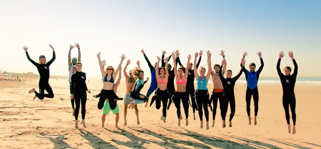 Dynamic Loisirs, le plaisir du surf en groupe